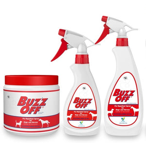 Buzz-Off Gel and Spray