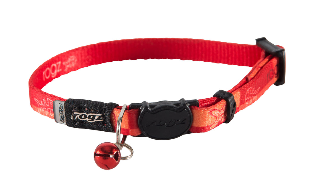 Rogz Catz KiddyCat 8mm Extra Small Safeloc Breakaway Cat Collar
