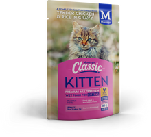 Load image into Gallery viewer, Montego Classic Cat & Kitten Wet Food Pouch 85g