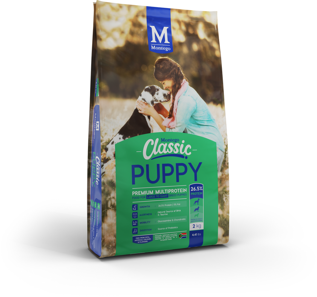Montego Classic Large Breed Puppy 2kg, 5kg, 10kg & 25kg