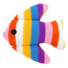 MCPets Cat Toy Plush Fish Assorted