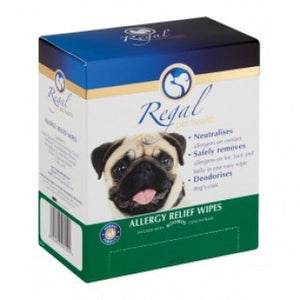 Regal Allergy Relief Wipes 25 Pack