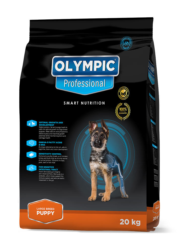Olympic Professional Large Breed Puppy 2kg, 8kg & 20kg
