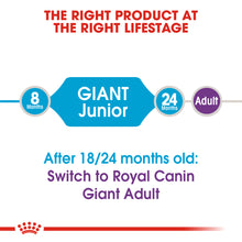 Load image into Gallery viewer, ROYAL CANIN® Giant Junior