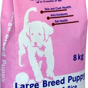 SuperVet Large Breed Puppy 8kg & 20kg