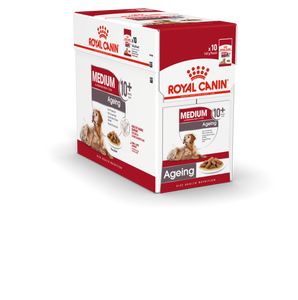 ROYAL CANIN® Medium Ageing 10+ in Gravy