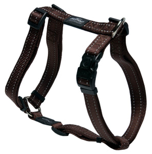 Rogz Utility Large 20mm Fanbelt Dog H-Harness