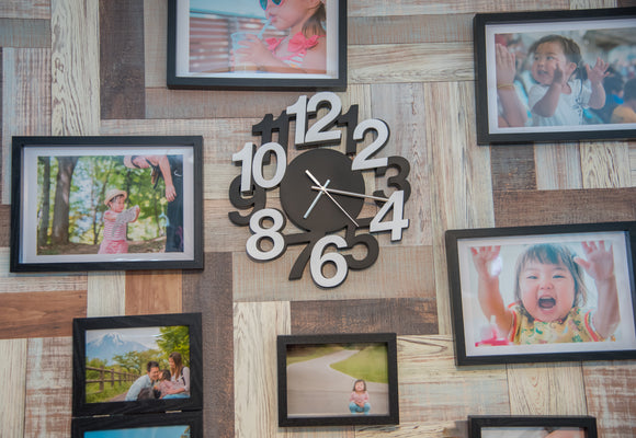 Unique Family Photo Wall Ideas