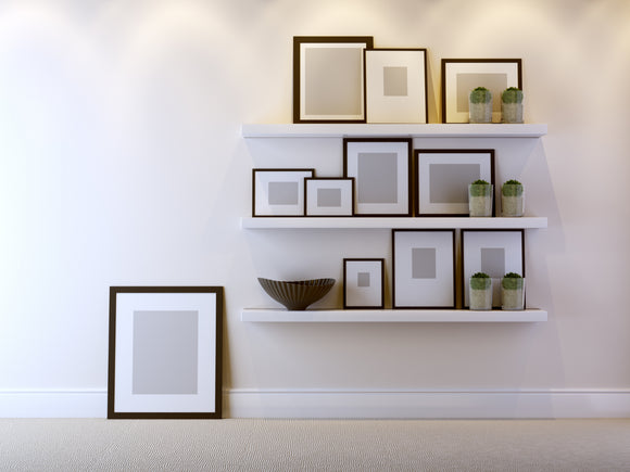 3 Creative Ways to Hang Your Picture Frames