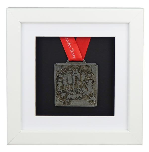 30x30cm-single-medal-display-frame-white-frame-white-mount-card-black-backing-card