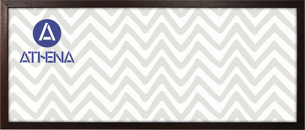 Athena Panoramic Dark Mahogany Thin Premium Wood Picture Frame