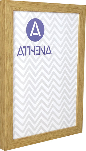 Athena Oak Block Premium Wood Picture Frame