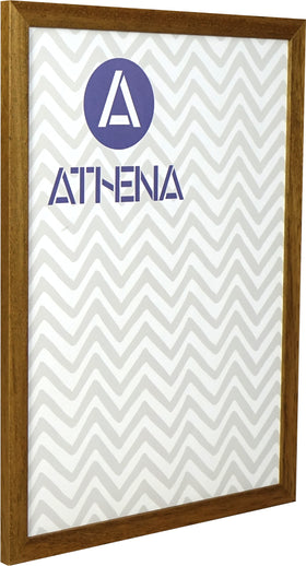 Athena Honey Oak Thin Premium Wood Picture Frame