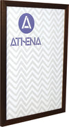 Athena Dark Mahogany Thin Premium Wood Picture Frame
