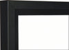 Athena Premium Wood DIY Adult Standard Sports Shirt Display Frame 60 x 80cm - Black Frame, Black Inner Frame, White Backing Card