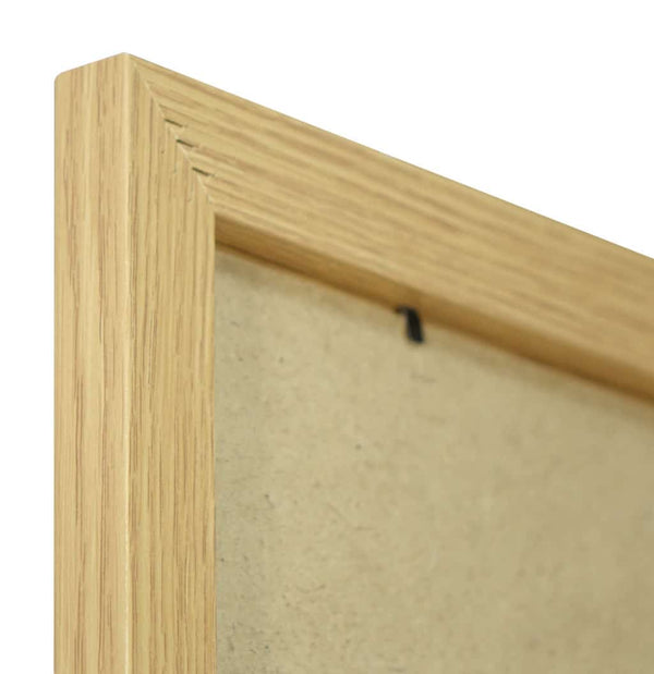 Standard Oak Finish MDF Ready Made Picture Frame