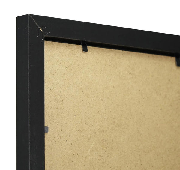 Thin Black Ash Finish MDF Ready Made Picture Frame