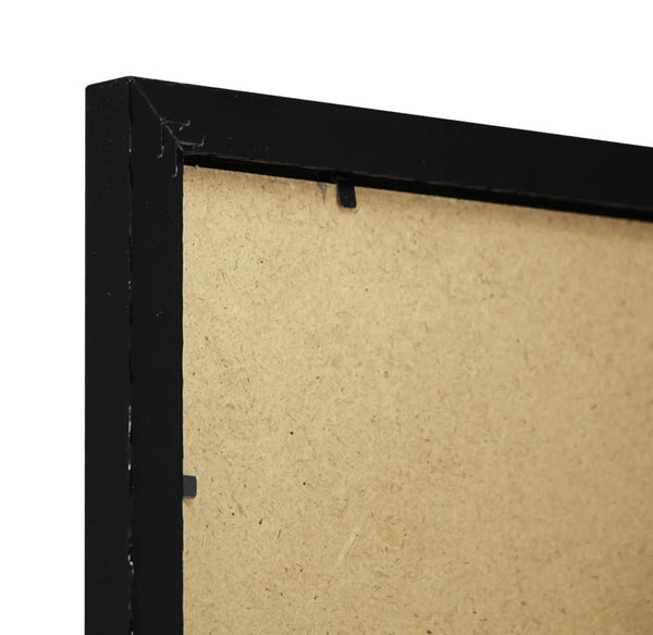 Thin Gloss Black Finish MDF Ready Made Picture Frame