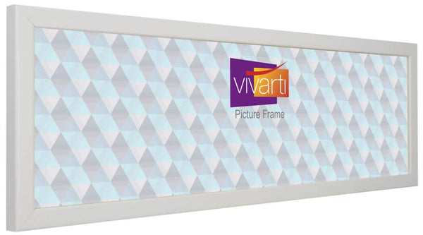 Panoramic Thin Matt White Picture Photo Frame