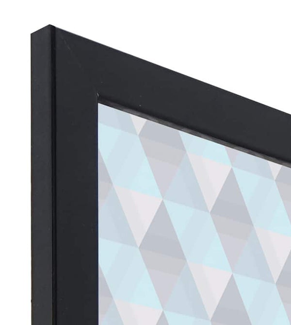 Standard Gloss Black MDF Ready Made Picture Frame