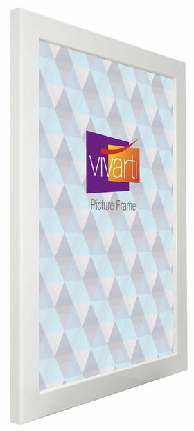 Standard Gloss White MDF Ready Made Picture Frame