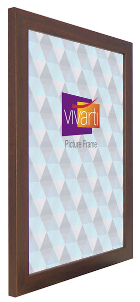 Standard Mahogany Finish MDF Ready Made Picture Frame