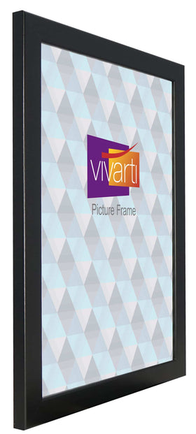 Standard Matt Black MDF Ready Made Picture Frame