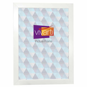 Standard Matt White MDF Ready Made Picture Frame