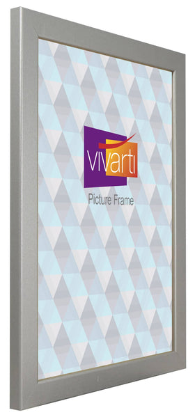 Standard Silver Finish MDF Ready Made Picture Frame