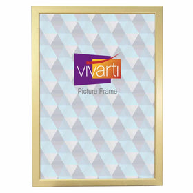 Thin Gold Finish MDF Ready Made Picture Frame