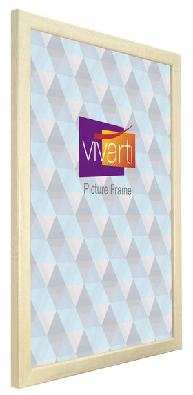 Thin Maple Finish MDF Ready Made Picture Frame