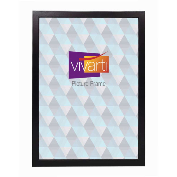 Vivarti Thin Matt Black Picture Frame