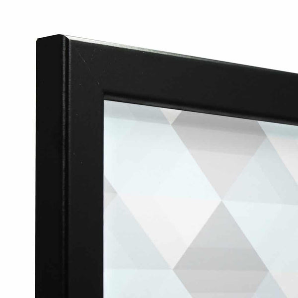 Thin Matt Black MDF Ready Made Picture Frame