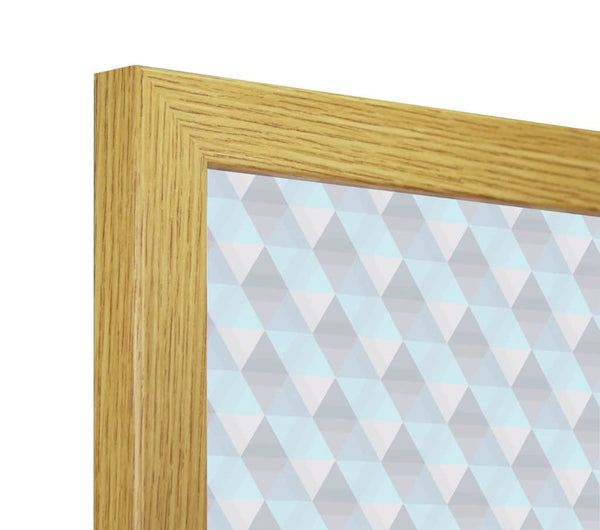 Panoramic Thin Oak Finish Picture Photo Frame