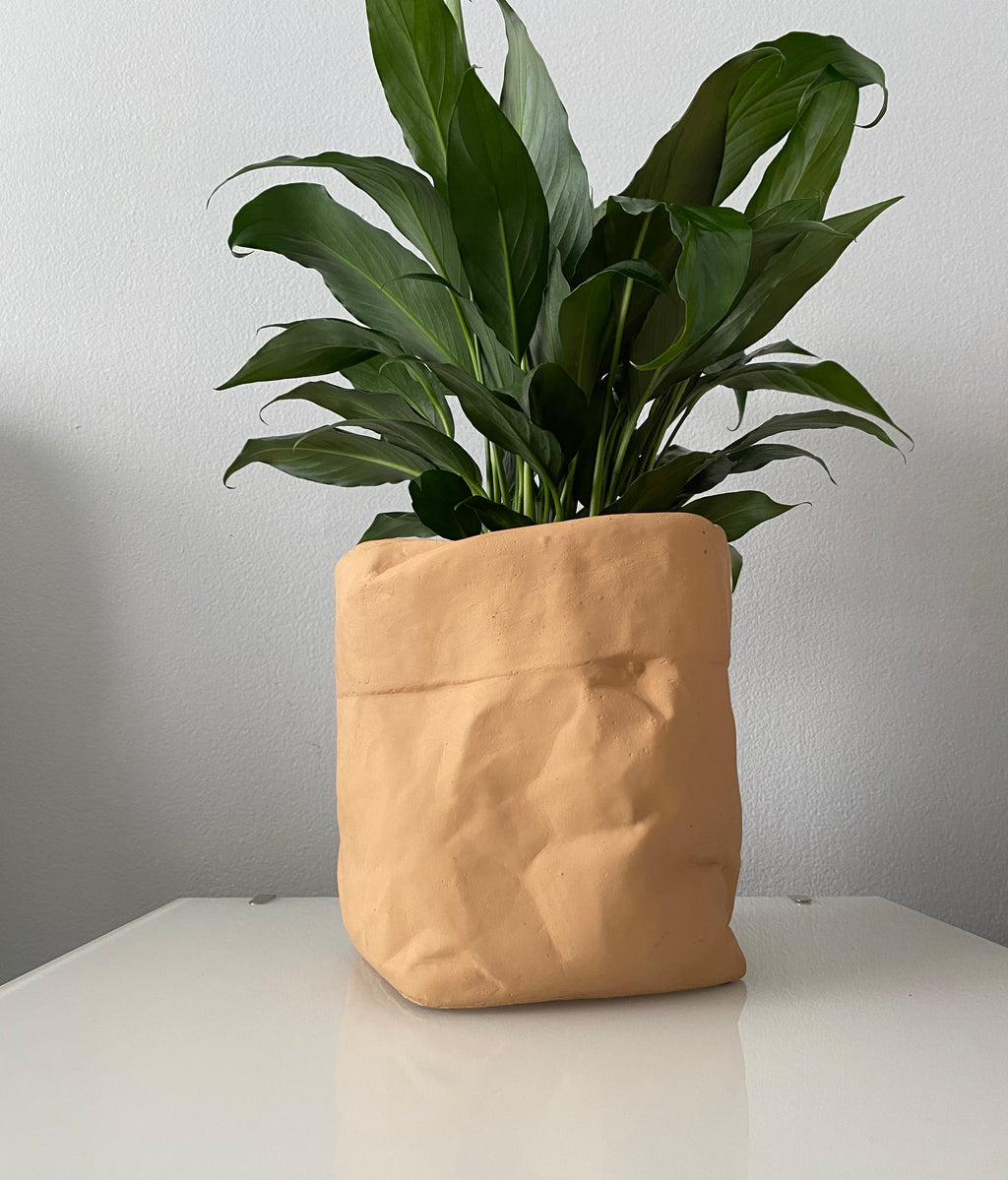 Large Ceramic Paper Bag