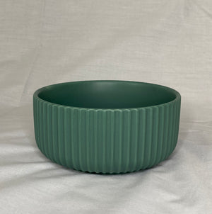 Small Green Ceramic Bowl