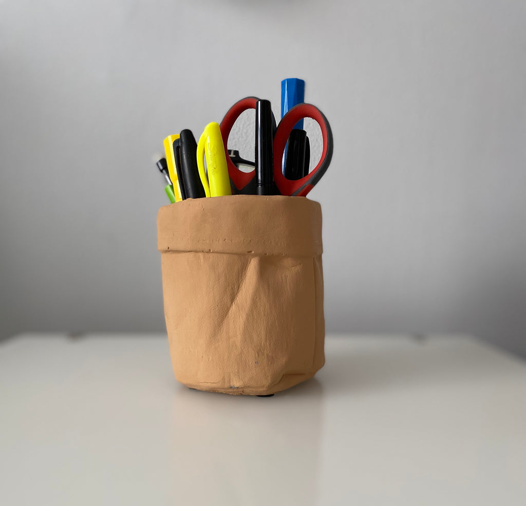 Small Ceramic Paper Bag