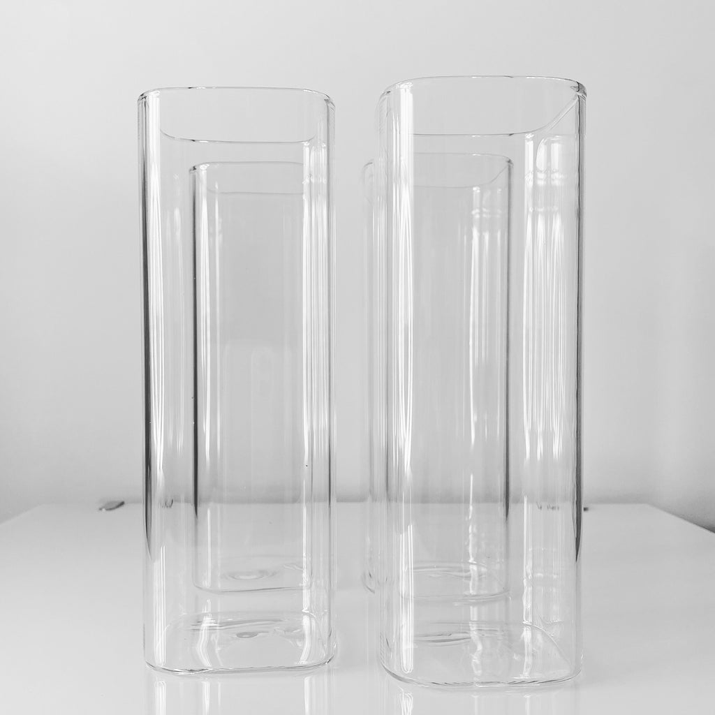 Square Glass Set (4-Piece)