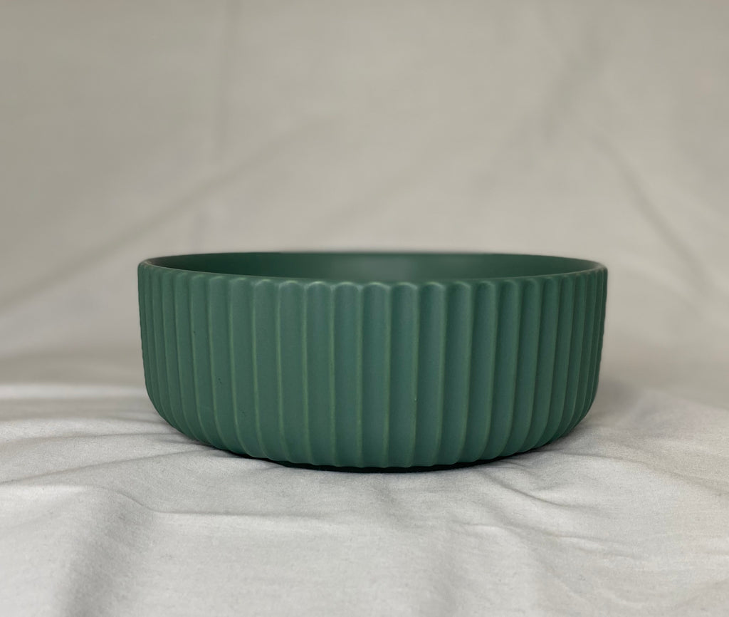Large Green Ceramic Bowl