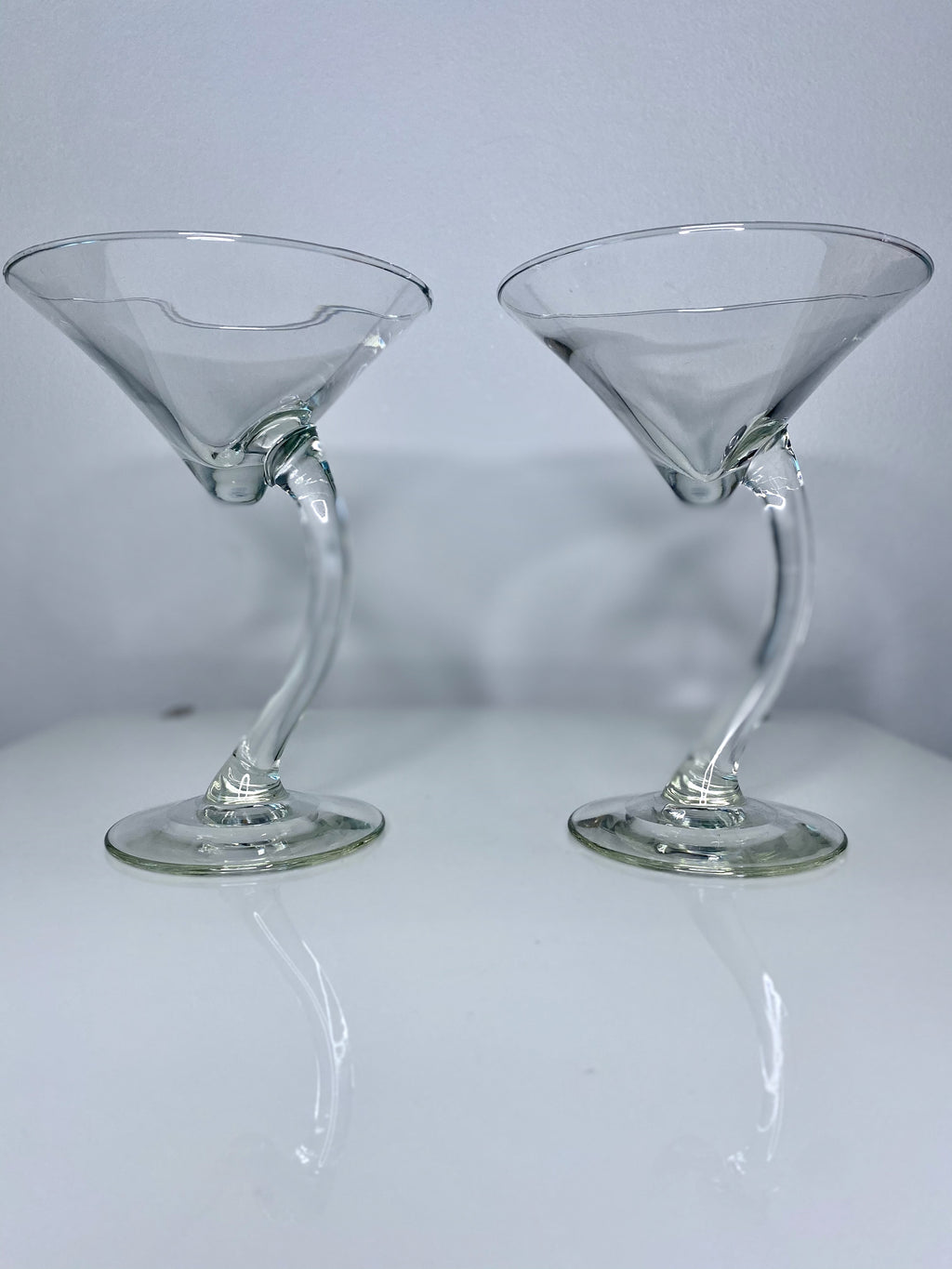Retro Martini Glass Set (VINTAGE)