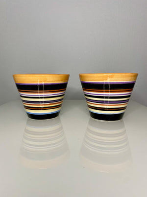 Tall Striped Bowls (VINTAGE)
