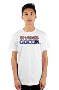 """Shades of Color"" mens t shirt"