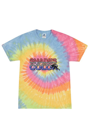 """Shades of Color"" Tie Dye Eternity Tee"