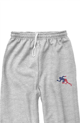 "Flag ""Running Man"" classic sweatpants"