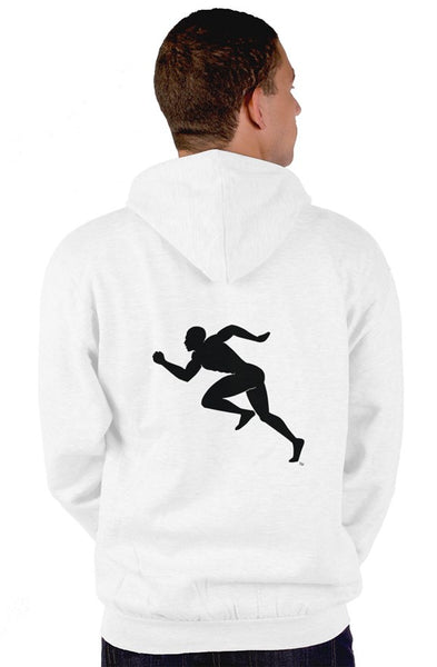 "Shades of Color ""Running Man"" zip up hoody"