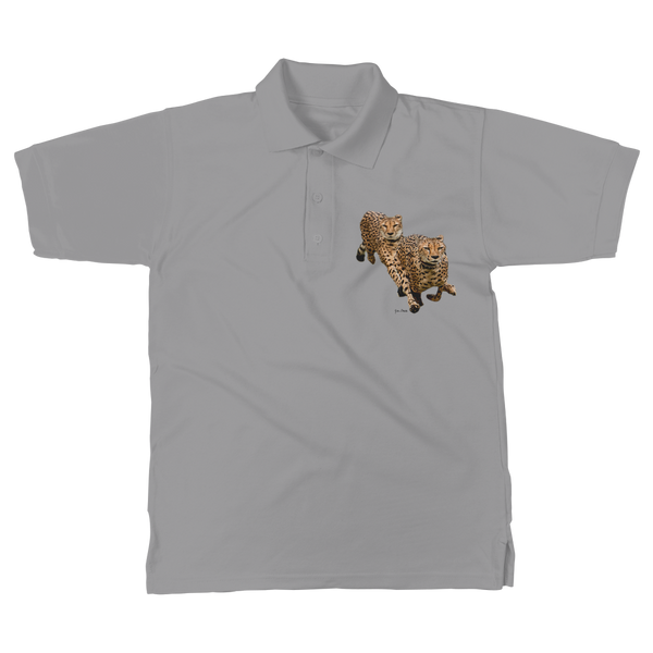 The Cheetah Brothers Classic Women's Polo Shirt