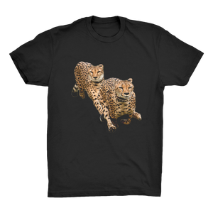The Cheetah Brothers Organic Adult T-Shirt