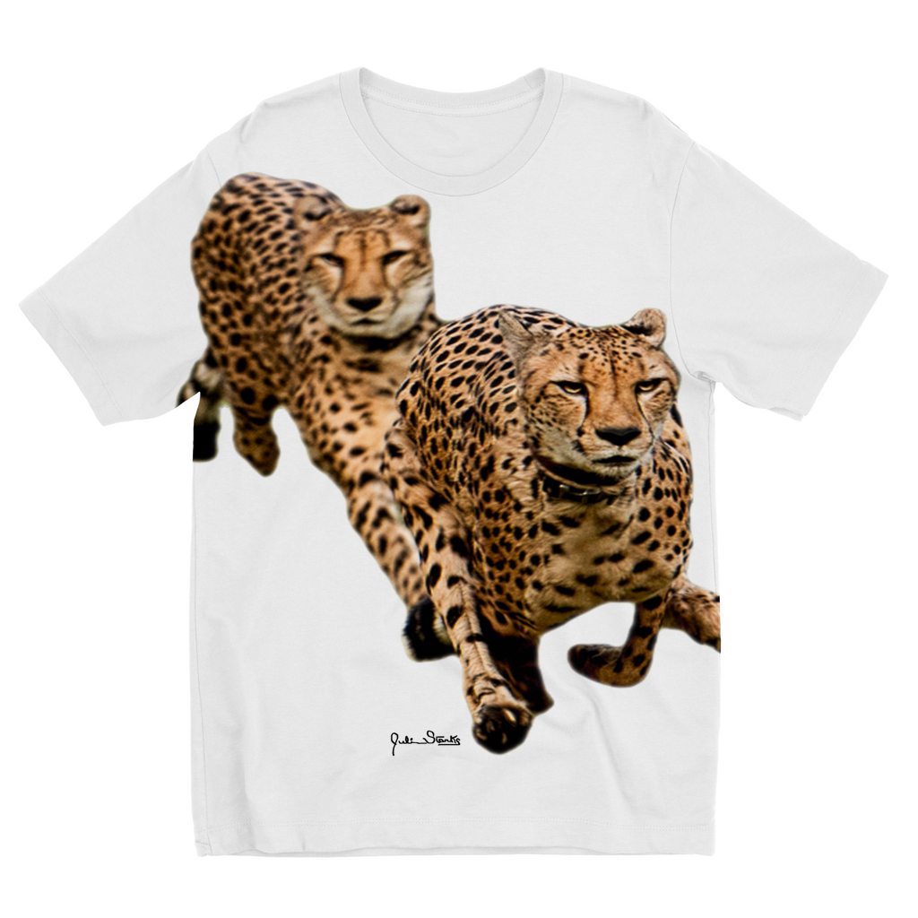 The Cheetah Brothers Sublimation Kids T-Shirt