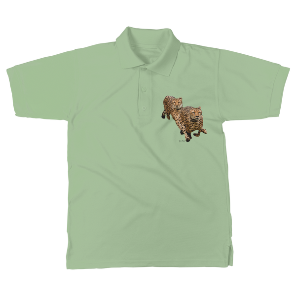 The Cheetah Brothers Classic Adult Polo Shirt