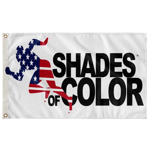 "Shades of Color - ""Running Man"" in Stars & Stripes"